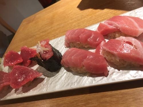 自宅にて寿司握る!