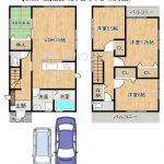 ★【新築戸建】富田町2丁目の全2区画!便利なWアクセス!