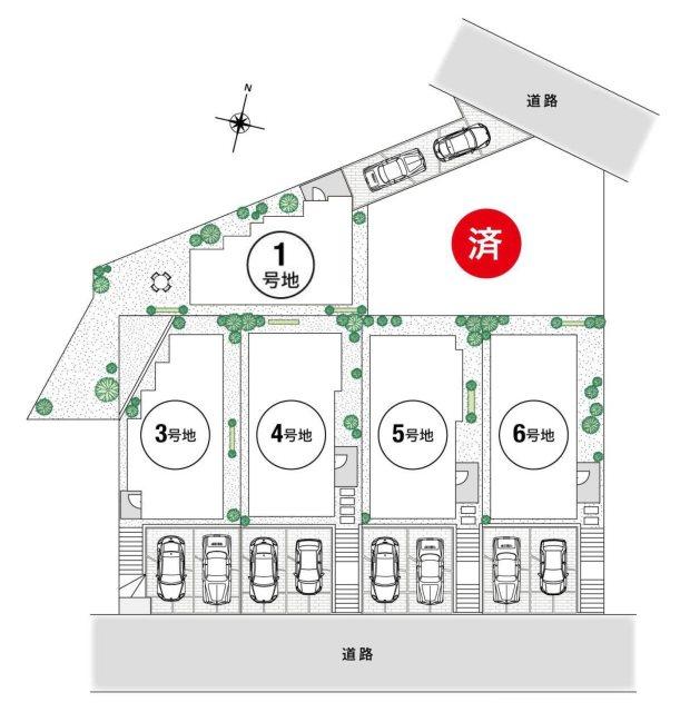 南春日丘7丁目7-6(新築区画4580万円~)
