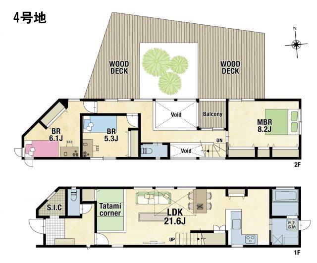山崎5丁目1-2(新築4180万円)